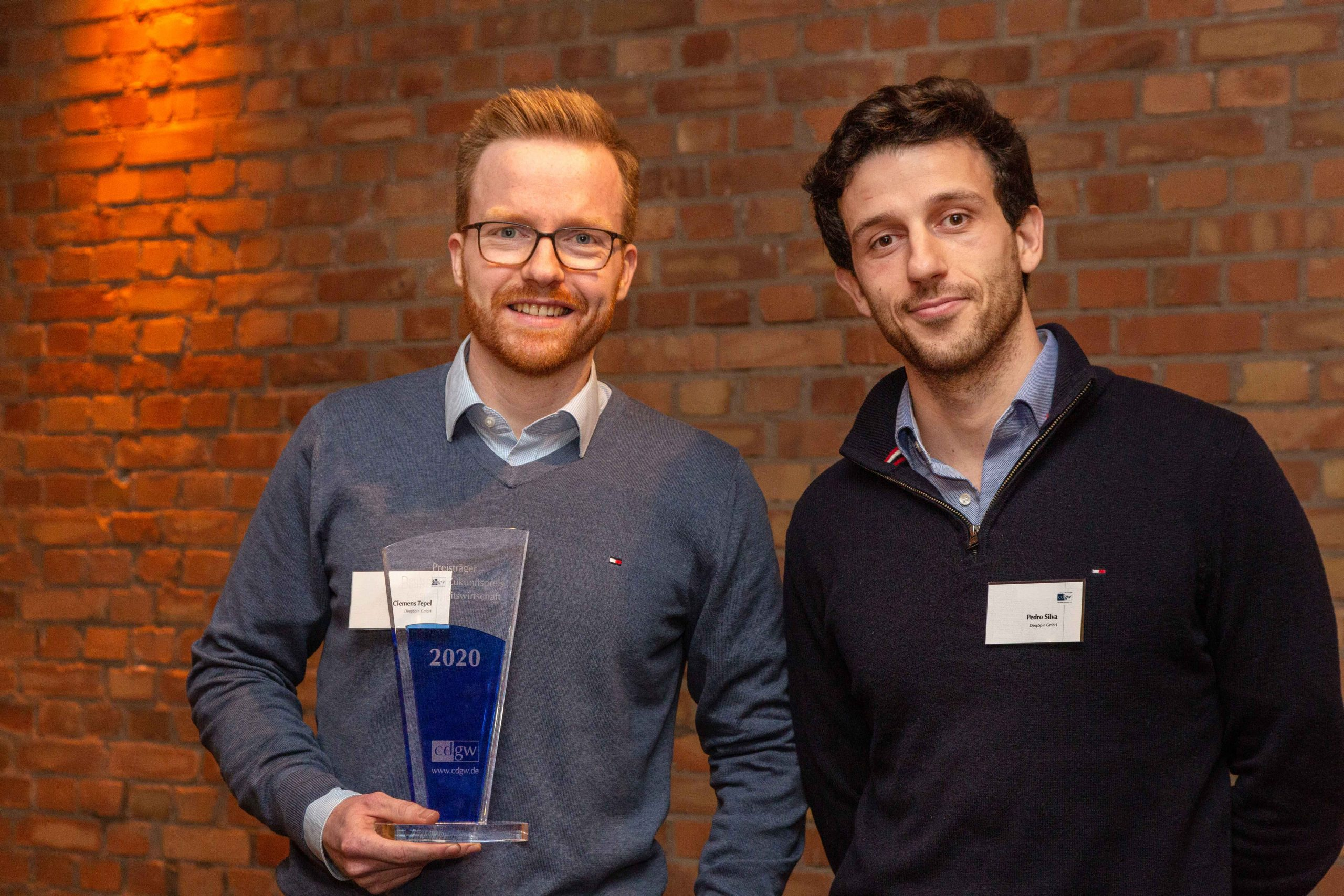 Cdgw-Zukunftspreis 2021 In Berlin